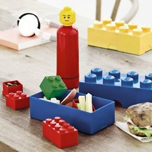NEW: LEGO Storage Lunch Box or Water Bottle