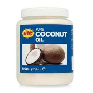 100% Pure  Coconut Hair Oil 500ml By KTC