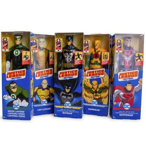 """DC Justice League Action 12"""" Inch Poseable Action Figures"""
