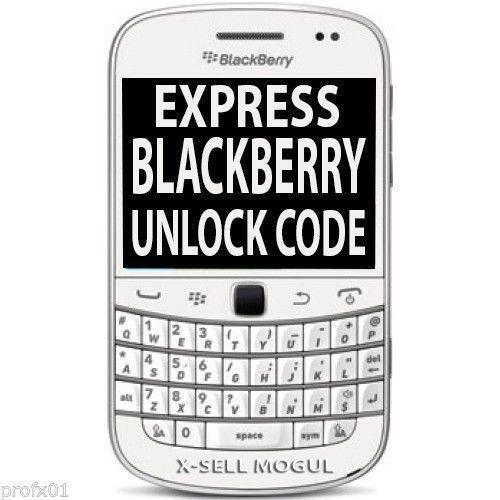 blackberry 9320 unlock codes