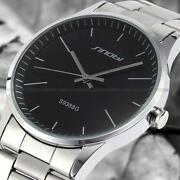 Mens Silver Watch