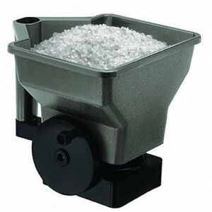 Hand Held Spreader for Ice Melt/Sand/Salt Snow De-Icers