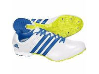 Adidas Men's Original adizero MD Track and Field Athletes Running Shoes. size 10