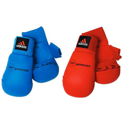 Wkf Karate Mitt - adidas Karate WKF Mitts Competition Gloves with Thumb