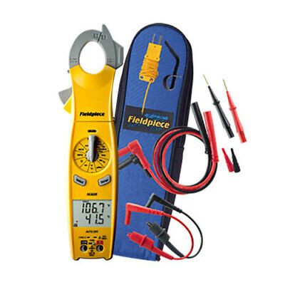 Fieldpiece Sc620 Swivel Ac Clamp Meter 600vacdc 400aac Temperature