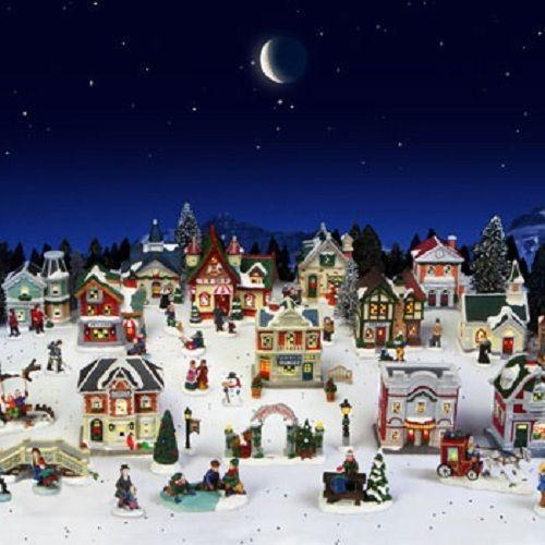 Cobblestone Corners Christmas Village Ebay
