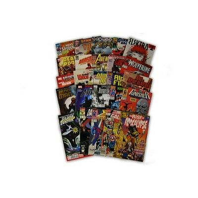25 Comic Book bundle lot with  25 Random Marvel Superhero Comic Collection with  - Comic Book Superhero