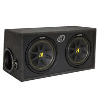 2-10 inch subwoofer kicker box ( the box only ) ***New Price***