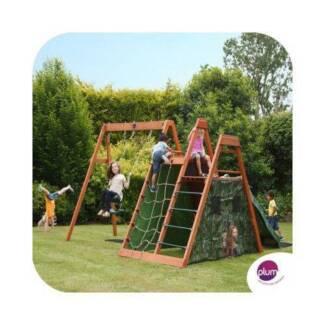 Plum Climbing Pyramid Outdoor Play Centre: Climbing/Slide/Swings, Seven Hills Blacktown Area Preview