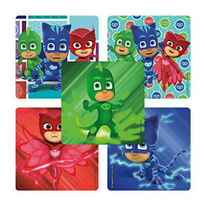Mask Party Favors (20 PJ Masks STICKERS Party Favors Supplies Birthday Treat Loot)