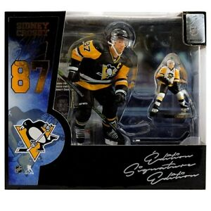 "NHL Sidney Crosby (6"" & 2.75"") figures box set Ltd. 848 BNIB"