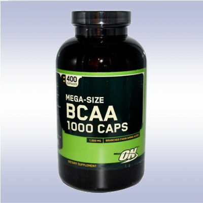 OPTIMUM NUTRITION BCAA 1000 (400 CAPSULE) amino whey creatine energy zma 5000 on