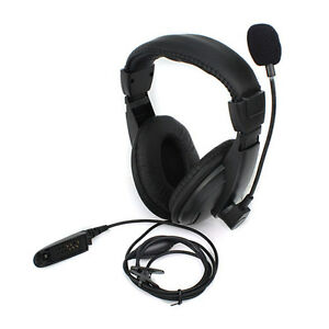 Headset-Headphone-MIC-for-MOTOROLA-GP328-338-HT1550-PTX760-MTX850-PRO5150-Radio