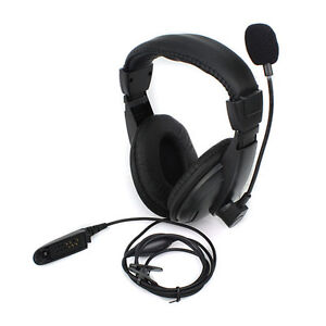 Headset Headphone MIC for MOTOROLA GP328/338 HT1550 PTX760 MTX850 PRO5150 Radio