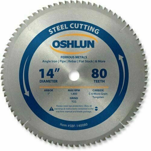 14 Inch Chop Cg Saw Blade Carbide Evolution Power Tools 80 T