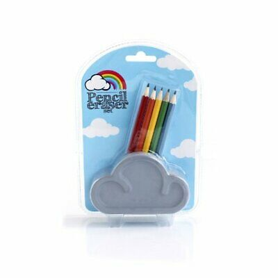 Suck Uk Giant Eraser Cloud Pencil Tidy With Pencils
