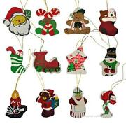 Silk Christmas Ornaments