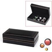 Cufflink Jewelry Box