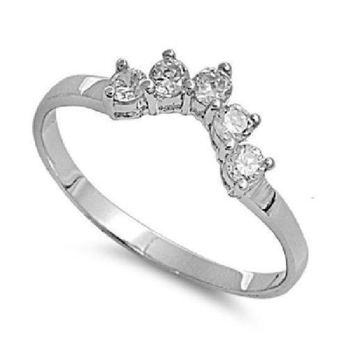 cz ring guard ebay - Wedding Ring Guards