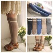 Wool Knee High Socks