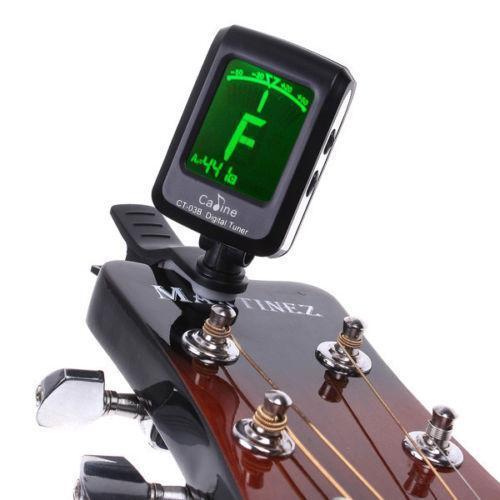ukulele digital tuner ebay. Black Bedroom Furniture Sets. Home Design Ideas