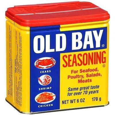 Old Bay Seasoning for Seafood, Poultry, Salads & Meats, 6 oz. Best By 4/2017 J6