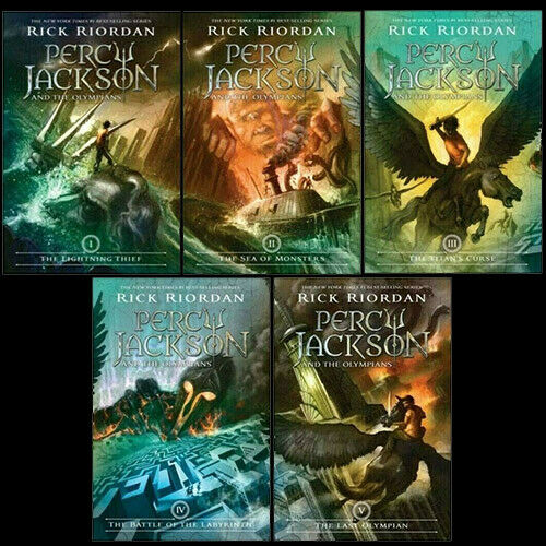FLASH SALE-🌟Percy Jackson and the Olympians Book Set by Rick Riordan🌟