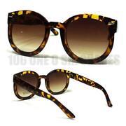 Round Tortoise Sunglasses