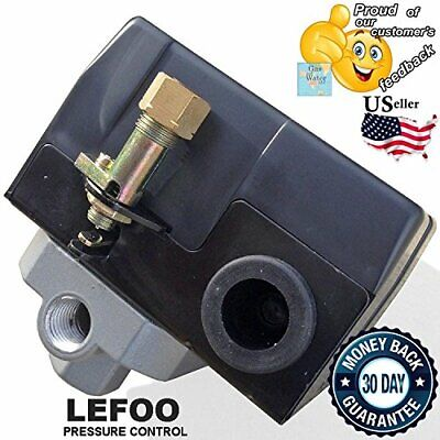 Lefoo Heavy Duty Pressure Switch For Air Compressor 135-175 Psi 4 Port