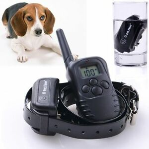 100% Submersible Remote Dog Training Collar (Rechargeable Set)