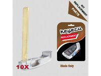 1x Key Blank Blade Key Radio Remote Control for BMW #1