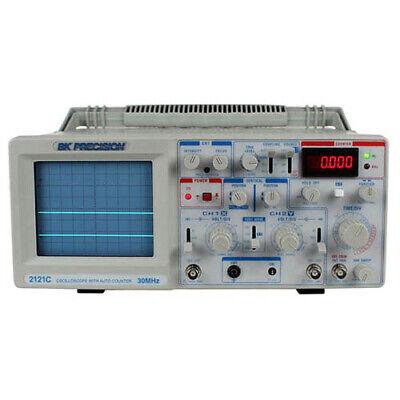 Bk Precision 2121c 30 Mhz Dual Trace Analog Oscilloscope W Counter