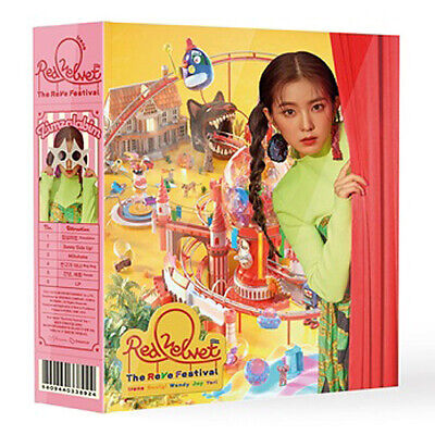 RED VELVET THE REVE FESTIVAL Album DAY 1 IRENE Ver CD+Magic Kit+Book+Card SEALED