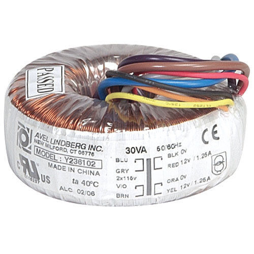 avel y236102 30va 12v 12v toroidal transformer. Black Bedroom Furniture Sets. Home Design Ideas