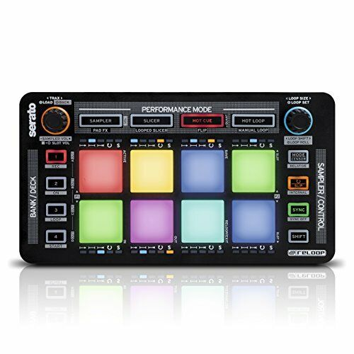 Compact Pad Controller w/ 8 RGB Drum Pads for DJ & Music Production Software