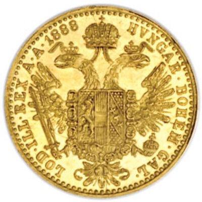 1 Ducat Austrian/Dutch Gold Coin (Varied Year, AU/BU)