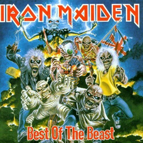 IRON MAIDEN : BEST OF THE BEAST  (CD) sealed