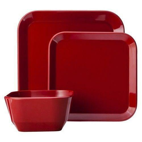 Red Square Dinnerware EBay