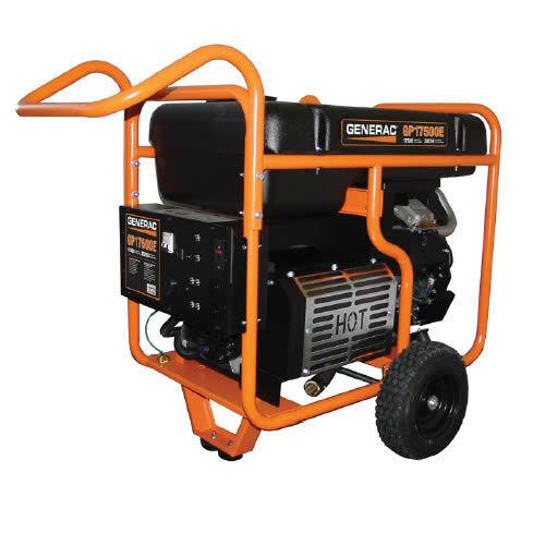 Generac GP17500E - 17,500 Watt Electric Start Portable Generator (49-State)