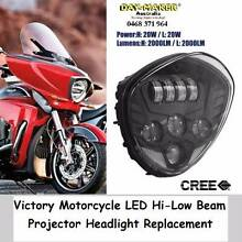 Victory LED Headlight Replacement most models Black or Chrome Success Cockburn Area Preview