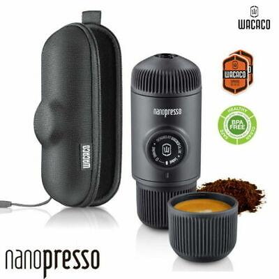 Wacaco Nanopresso Portable Espresso Maker with Case (Best Price Online) Portable Espresso Maker