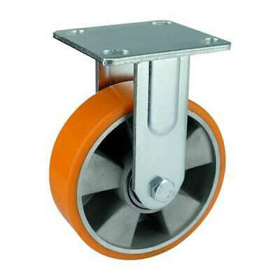 6 Inch Caster Wheel 1102 Pounds Fixed Aluminium And Polyurethane Top Plate
