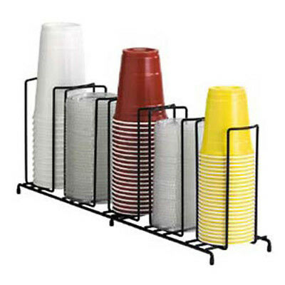 Dispense-rite Wr-5 Wire Cup And Lid Dispenser Up To 44 Oz. 5 Sections