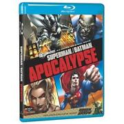 Superman Batman Apocalypse Blu Ray