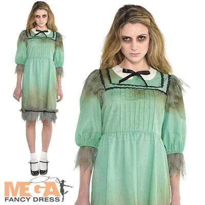 4 Matching Halloween Costumes (Dreadful Darling Ladies Fancy Dress The Shining Twin Adults Halloween Costume)