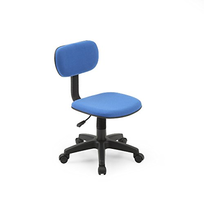 Armless Task Chair Seat Rolly Classic Computer Desk Office D