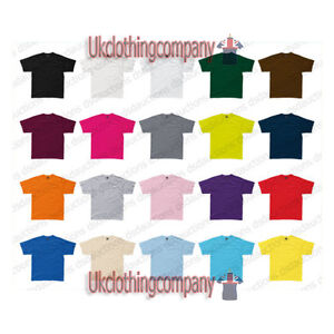 SG-Short-Sleeve-100-Ring-Spun-Cotton-Plain-T-Shirt