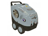 New MAC International Drop Revolution 240V 120 Bar Hot/Cold Industrial High Pressure/Power Washer