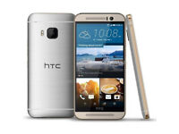 HTC M9 Boxed as new UNLOCKED. ALL accessories in silver. 32GB Android Phone