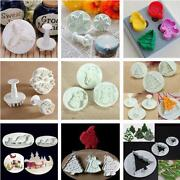 Santa Christmas Cake Decoration